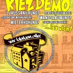 KiezDemo! 14.03. / 16 Uhr / Hermannplatz