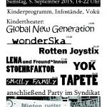 05.09.15, 13 Uhr -> Kiezspaziergang zum Weisestraßenfest