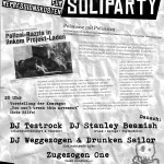 07. November: Friedel54 - Soliparty im Syndikat