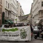 Pressemitteilung zur Demonstration am 2. Tag der Wien-Reise