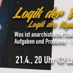 [Verantaltung] Was ist anarchistische Stadtpolitik? | 21.04. | 20 Uhr @ Laidak