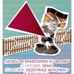 Donnerstag 22.9.   20 Uhr   Mobi-Vortrag gegen die Einheitsfeier in  Dresden