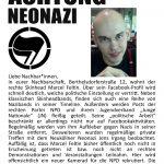 Neonazi in Nord-Neukölln geoutet