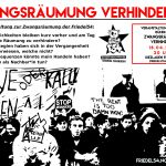 Infoveranstaltung: Zwangsräumung verhindern!? | 18.04. | 20 Uhr | Friedel54