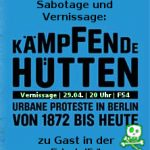 Ausstellungseröffnung: Kämpfende Hütten | 29.04. | 20 Uhr | Friedel54