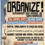 Neukölln & Wedding – Organized and united am 30. April 2017 auf die Straße!