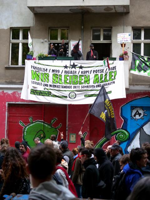 PM: Räumungstermin für Kiezladen Friedel 54 steht fest