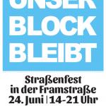Unser Block Bleibt - Straßenfest am 24.6.