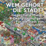 """Demo """"Wem gehört die Stadt? - Gegen hohe Mieten und Zwangsräumungen"""" am 9.9.2017"""