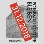 Potse & Drugstore bleiben! Kundgebung am 31.12.18 von 10-16 Uhr zur Schlüsselübergabe