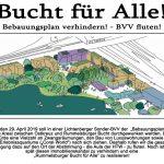 Montag, 29.04: Rummelsburger Bucht für Alle! BVV fluten!