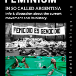 09.10., 19.00 Uhr | Essen & Info - Feminism in so-called Argentina | @ Ida Nowhere, Donaustr. 79, Neukölln