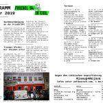 Friedel54 im Exil - Monatsprogramm Dezember 2019