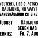 Räumungen – Abschiebungen – Faschisierung – Raus aus der Defensive // Demonstration am 01.08.2020 - 20 Uhr – Herrfurthplatz – Berlin/Neukölln
