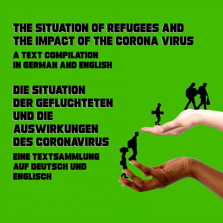 """20/06: """"la situation des réfugié.e.s et les répercussions du corona"""" küfa en selfservice avec présentation en ligne / 20.06. """"Die Situation der Geflüchteten und die Auswirkungen des Coronavirus"""" Abholküfa mit Onlinevortrag"""