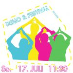 [Demo + Festival] Wir brauchen Platz! - Demo zum Festival   17.07.   11:30   Start: Bockbrauerei, Ziel: Dragonerareal