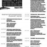Monatsprogramm August